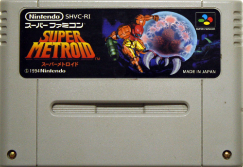 Super Metroid - JAP-Modul