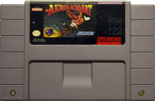 Aero the Acro Bat - US-Modul / NTSC