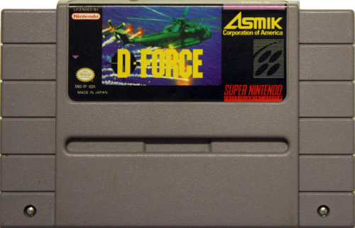 D-Force - US-Modul / NTSC