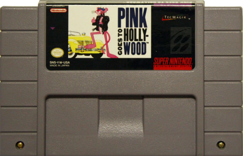 Pink Goes to Hollywood - US-Modul / NTSC