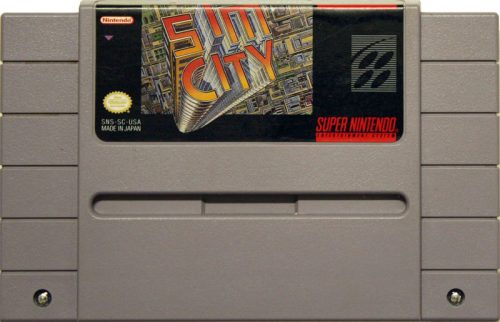 Sim City - US-Modul / NTSC