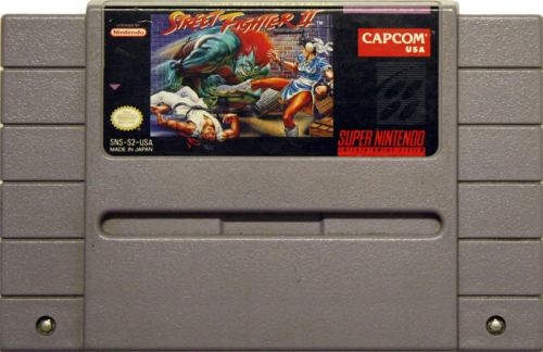 Street Fighter II - US-Modul / NTSC