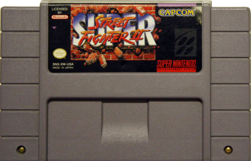 Super Street Fighter II - US-Modul / NTSC