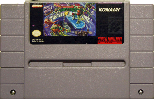 Turtles IV Turtles in Time - US-Modul / NTSC