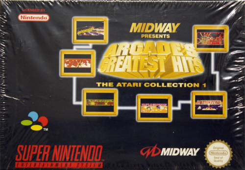 Arcade Greatest Hits, Midway presents