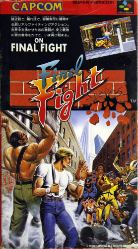 Final Fight - JAP-Version