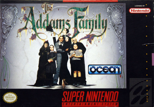 Addams Family, the - US-Version / NTSC