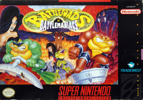 Battletoads in Battlemaniacs - US-Version / NTSC