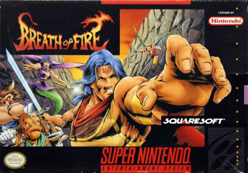 Breath of Fire - US-Version / NTSC