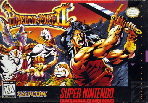 Breath of Fire II - US-Version / NTSC