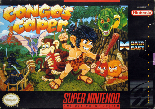 Congo`s Caper - US-Version / NTSC
