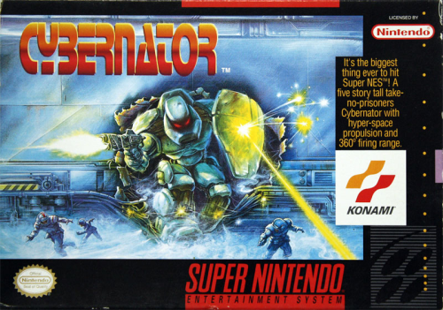 Cybernator o.A. - US-Version / NTSC