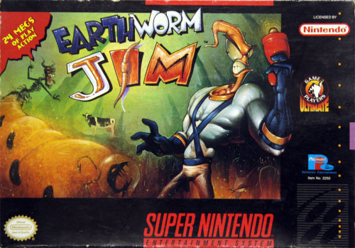 Earthworm Jim - US-Version / NTSC