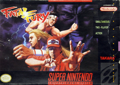 Fatal Fury - US-Version / NTSC