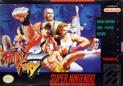 Fatal Fury 2 - US-Version / NTSC