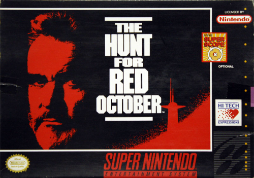 Hunt for the Red October, The o.A. - US-Version / NTSC