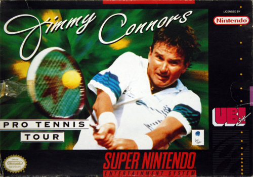 Jimmy Connors Pro Tennis Tour - US-Version / NTSC