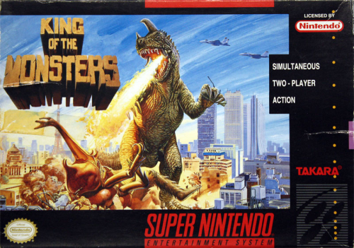 King of the Monsters - US-Version / NTSC