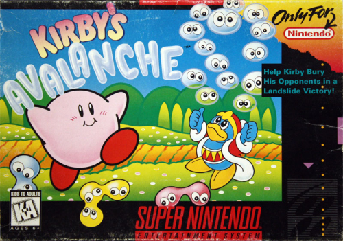 Kirby`s Avalanche o.A. - US-Version / NTSC