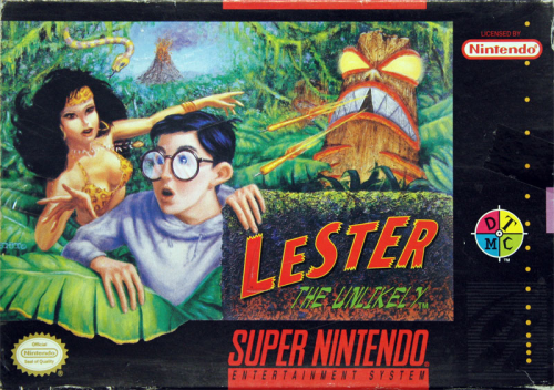 Lester the Unlikely - US-Version / NTSC