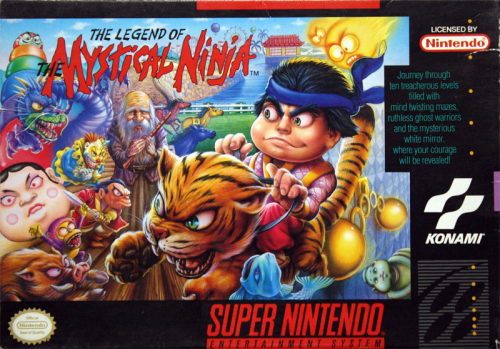 Mystical Ninja, The Legend of - US-Version / NTSC