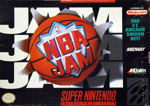 NBA Jam - US-Version / NTSC