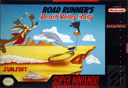 Road Runner`s Death Valley Rally - US-Version / NTSC