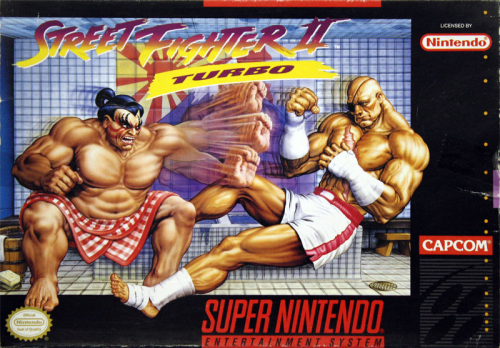 Street Fighter II Turbo o.A. - US-Version / NTSC