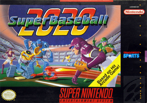 Super Baseball 2020 o.A. - US-Version / NTSC