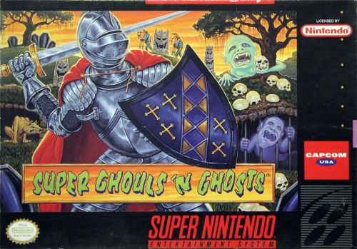 Super Ghouls`n Ghost - US-Version / NTSC