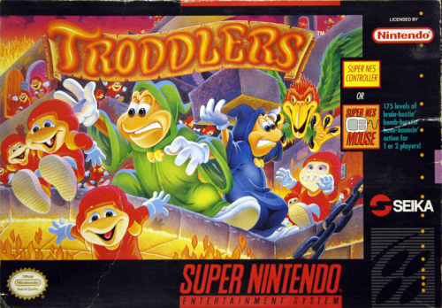 Troddlers - US-Version / NTSC