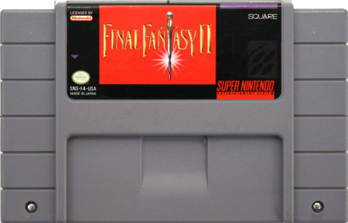 Final Fantasy II - US-Modul / NTSC