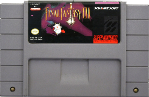 Final Fantasy III - US-Modul / NTSC