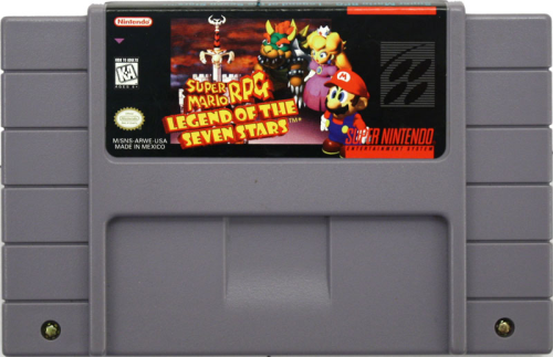 Super Mario RPG, Legend of the Seven Stars - US-Modul / NTSC