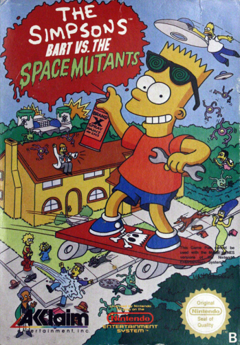 Simpsons, The - Bart vs. Space Mutants