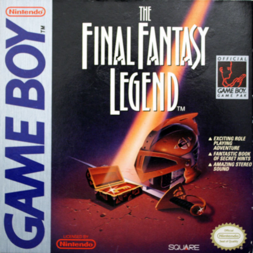 Final Fantasy Legend, The - Englisch