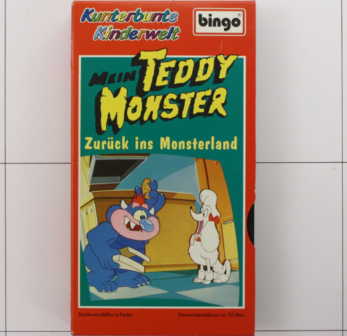 Mein Teddy Monster VHS
