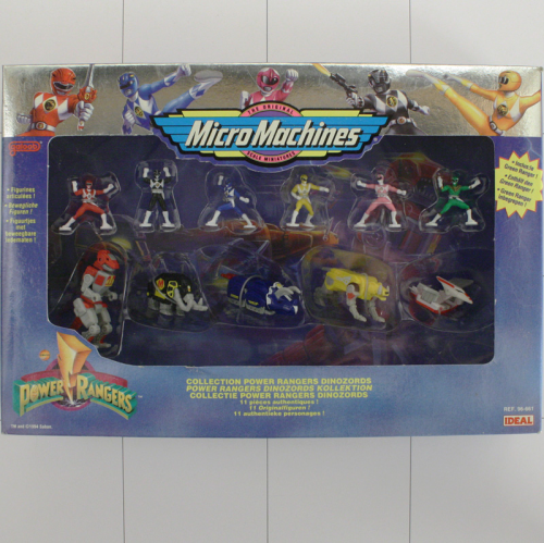 Dinozords - Set, Power Rangers, Micro