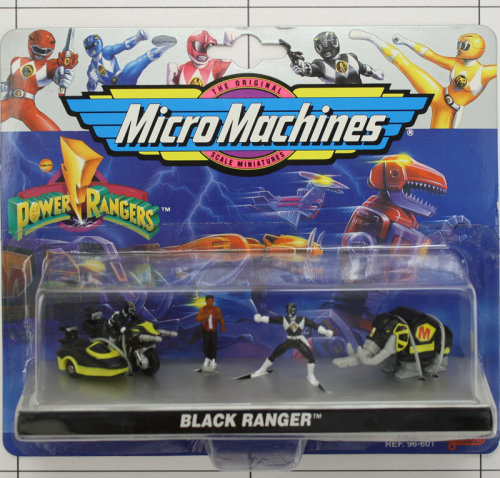 Black Ranger, Power Rangers <br /> Galoob, Micromachines
