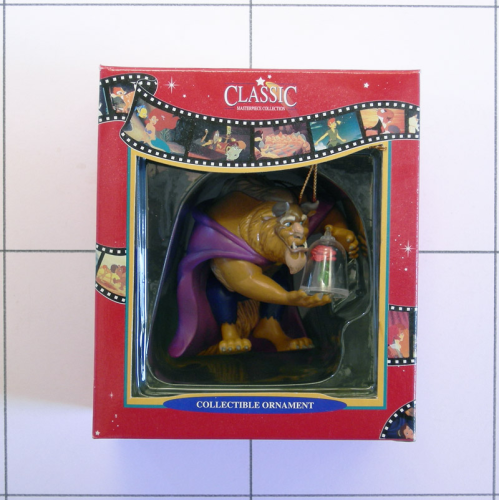 Biest, Beauty and the Beast, Figur handbemalt