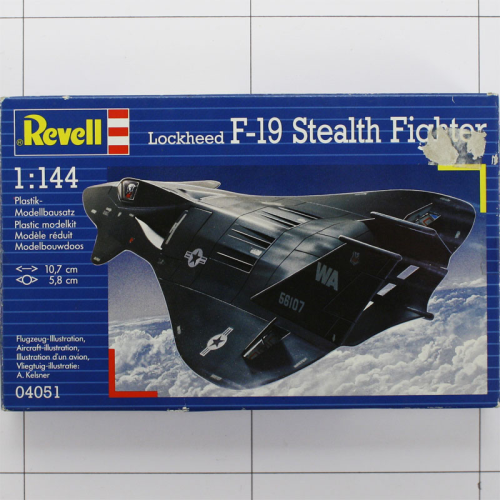 Lockheed F-19 Stealth Fighter, Revell 1:144