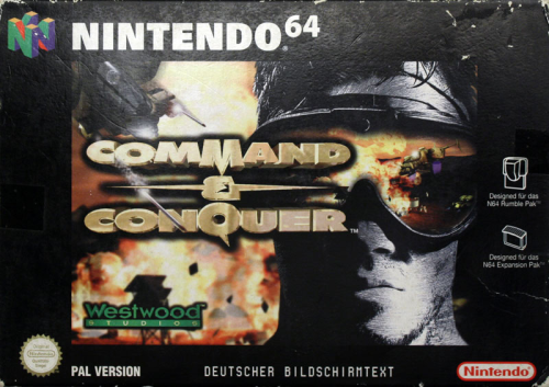 Command & Conquer - N64