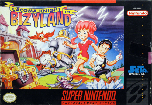 Cacoma Knight in Bizyland - US-Version / NTSC