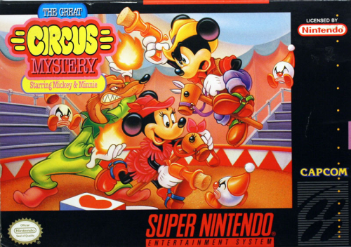 Circus Mystery, The Great - US-Version / NTSC