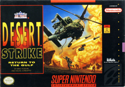 Desert Strike - US-Version / NTSC