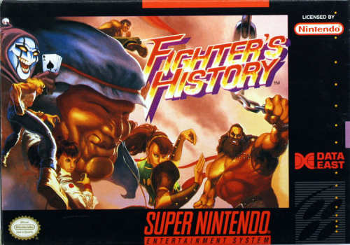 Fighter's History - US-Version / NTSC