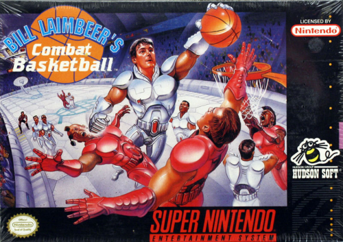 Combat Basketball, Bill Laimbeer's - US-Version / NTSC