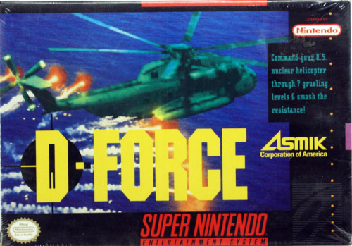 D-Force - US-Version / NTSC