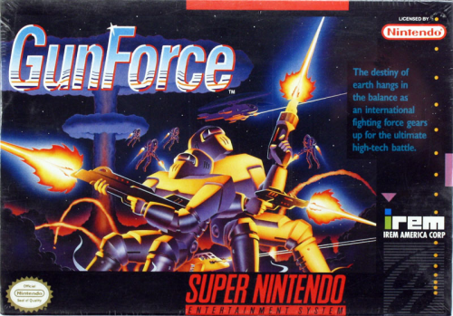 GunForce - US-Version / NTSC