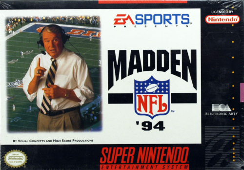 Madden NFL '94 - US-Version / NTSC
